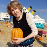 Maureen fell in love with this very different looking pumpkin.