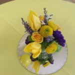 Beautiful table bouquet.
