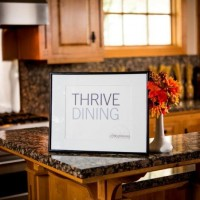 Thrive Dining Sign