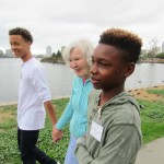 Our intergenerational program is a gift to our community! Our student volunteers make a difference.