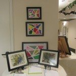 Our lobby as transformed into an art gallery.