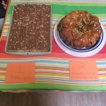 Toffee squares entered by Lynn Jay's wife and Monkey Bread entered by Tracy.