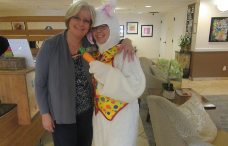 Easter High Tea and Bunny Visit