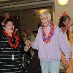 Carolee loves dancing with Viviana and Tracy.