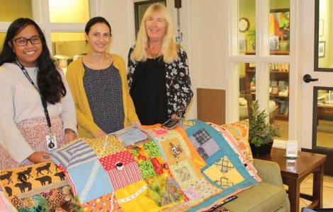 African American Oakland Quilt Guild Donates 25 Quilts!